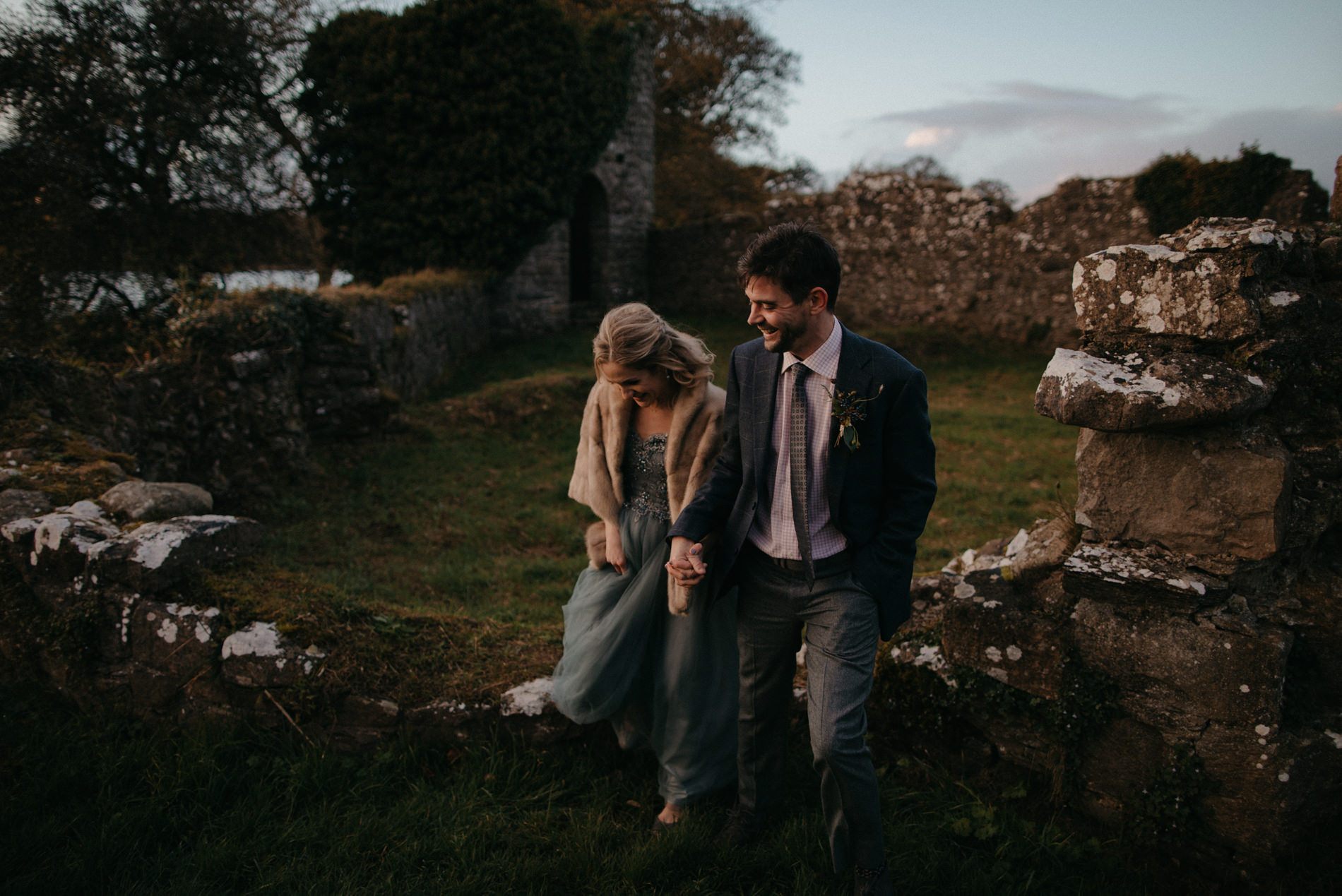 crom castle wedding