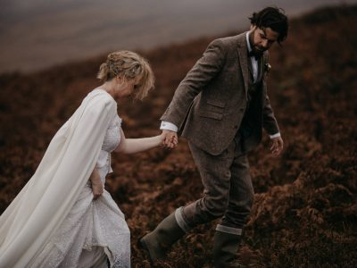Tweed & Capes | Catherine + Peter | Brooklodge