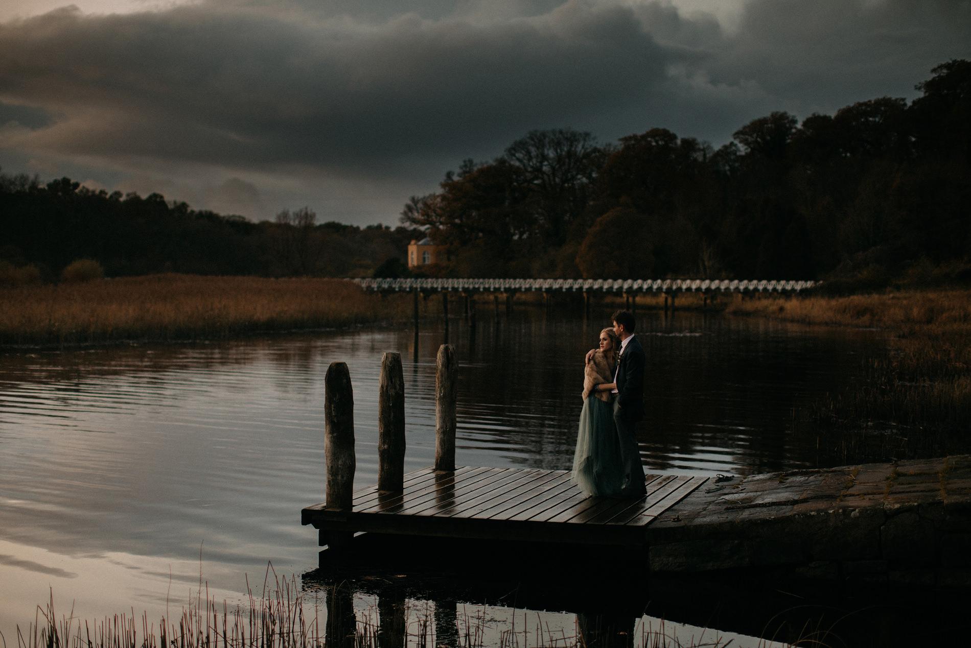 crom castle wedding