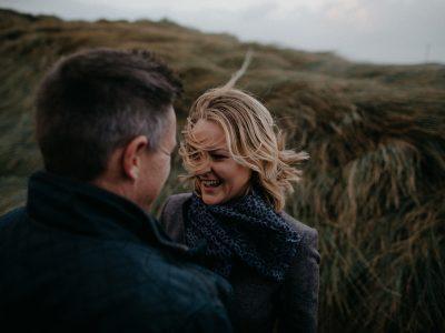 Castlegregory Couple Session | Elizabeth + David