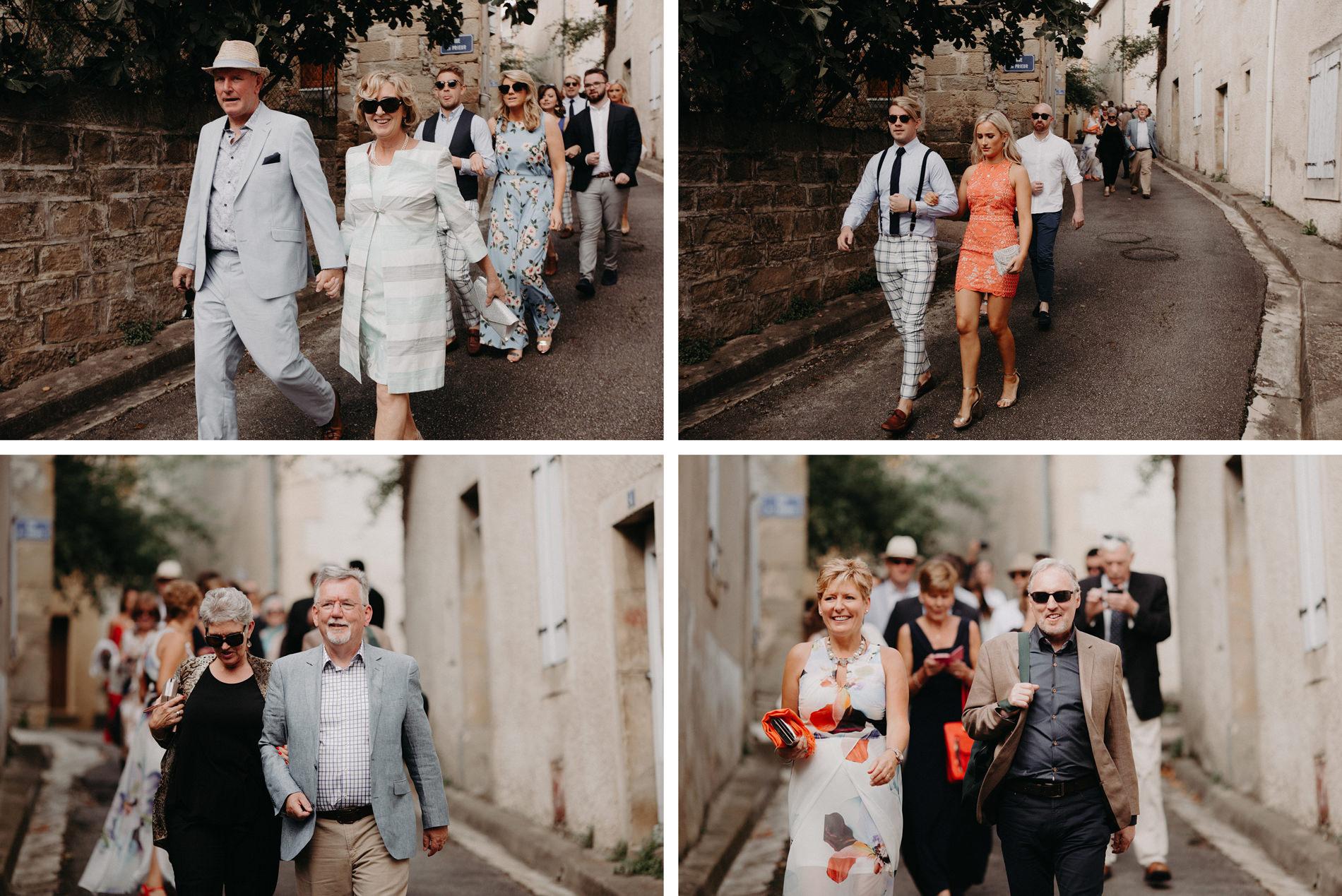 Labbaye chateau de camon wedding