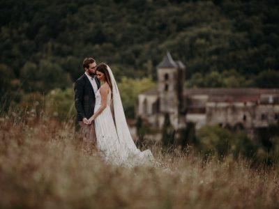 L'Abbaye-Château de Camon Wedding | Amy + Sean