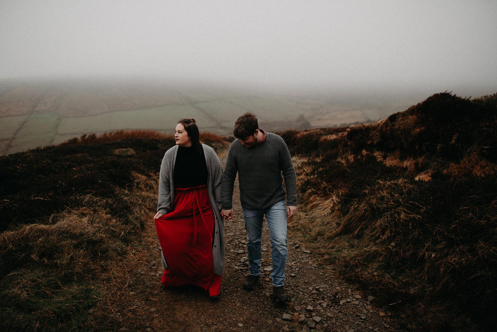 Dingle Couple Session | Jasmine + Marius