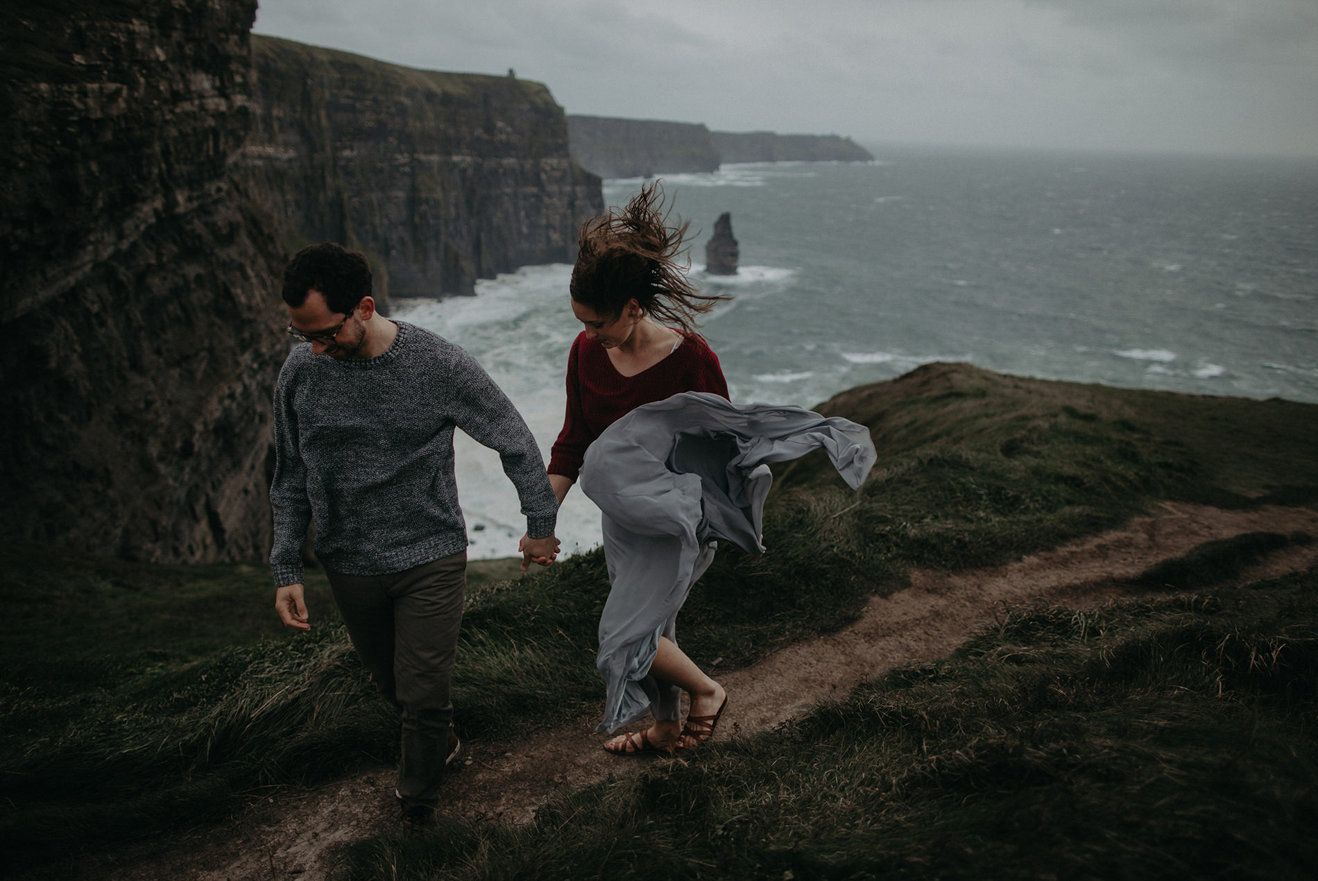 Cliffs of Moher Portraits