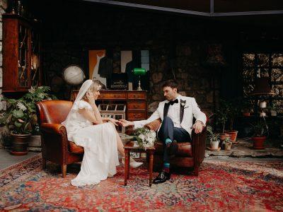Chewy + Sam   Chic Mount Druid Wedding